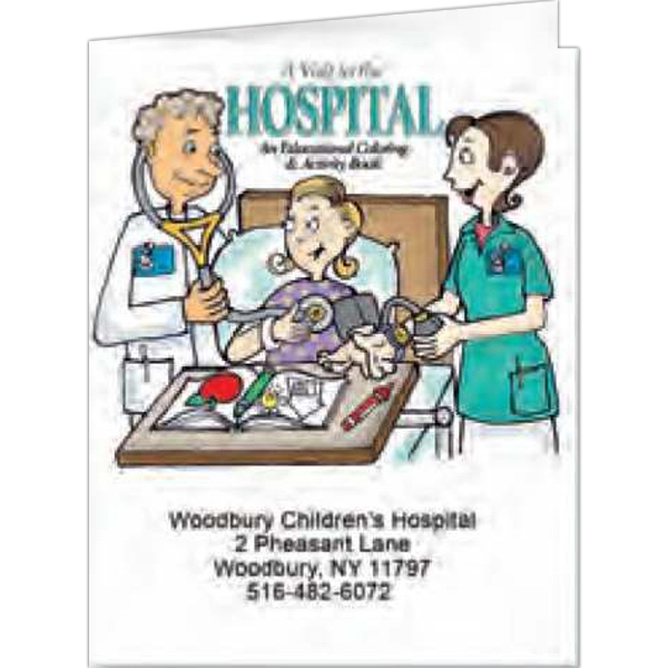 A Visit To The Hospital - Coloring Book, 8 Pages Photo