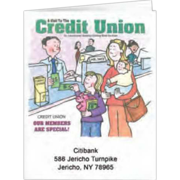 A Vistit To The Credit Union - Coloring Book, 8 Pages Photo