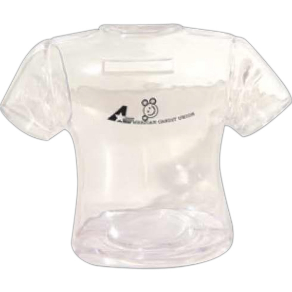 Clear - Shirt Shaped Bank Photo