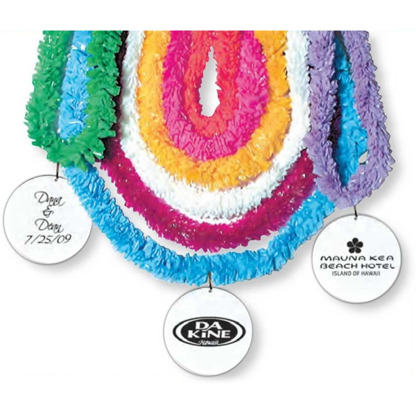 "Plastic 36"" Lei With 2 1/2"" Medallion Photo"