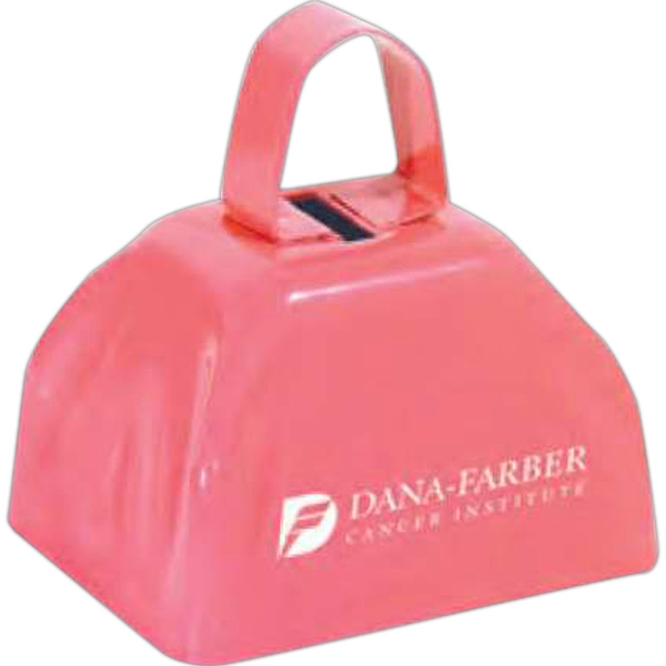 Three Inch Pink Cowbell Photo