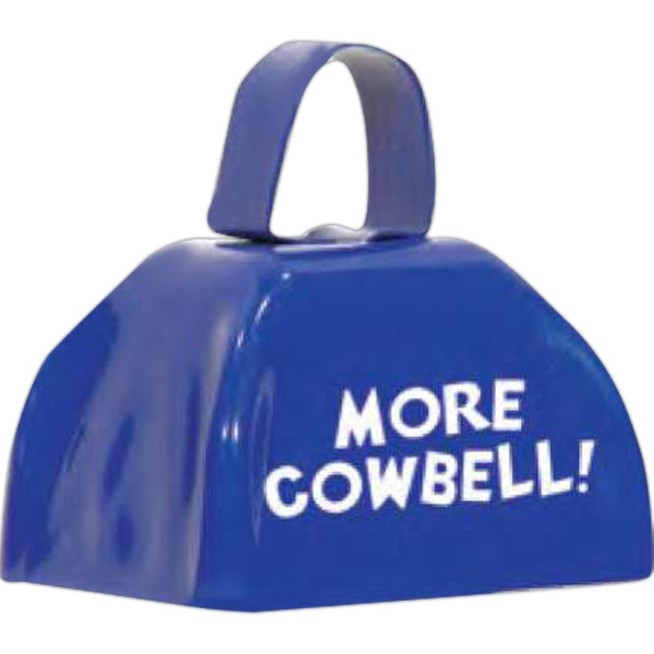 Three Inch Blue Cowbell Photo