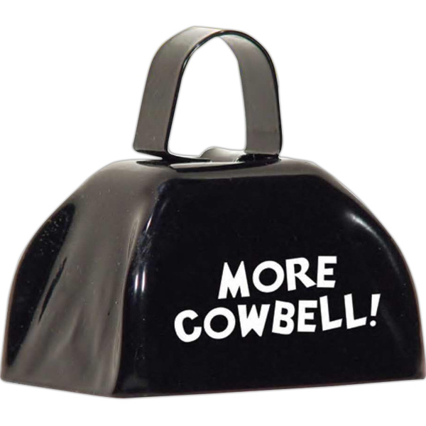 Three Inch Black Cowbell Photo