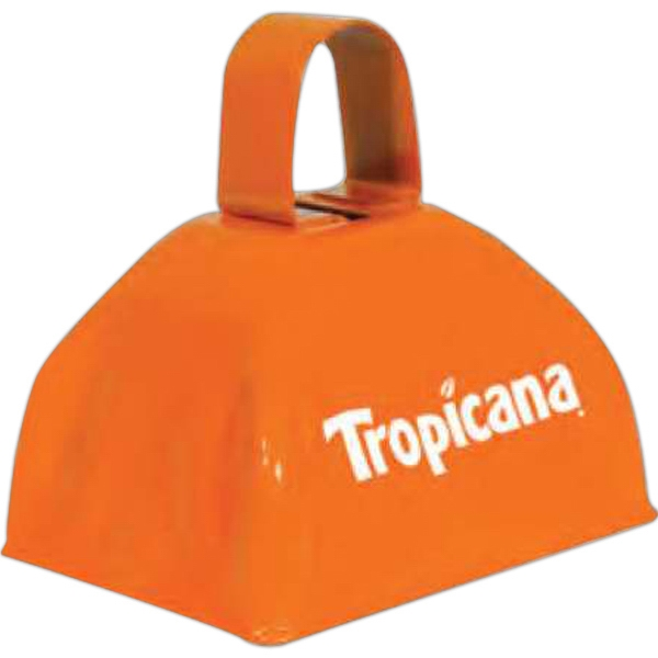 Three Inch Orange Classic Cowbell Photo