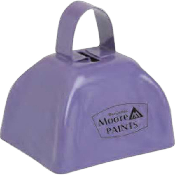 Three Inch Purple Classic Cowbell Photo