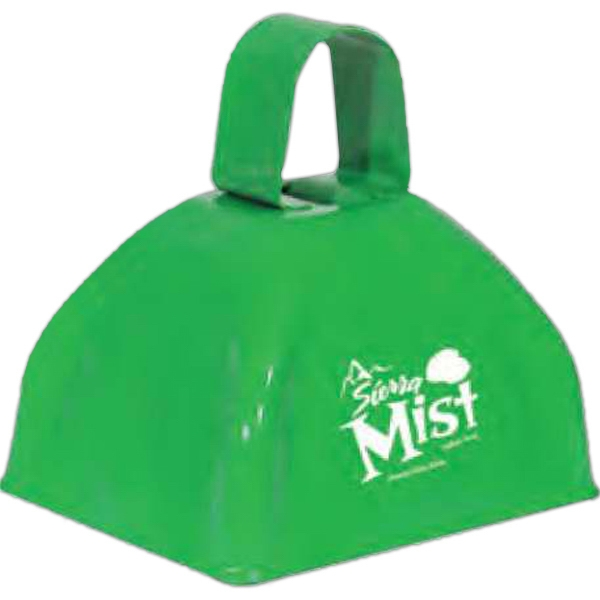 Three Inch Green Classic Cowbell Photo