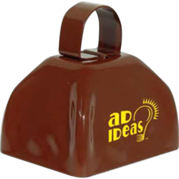 Three Inch Brown Classic Cowbell Photo
