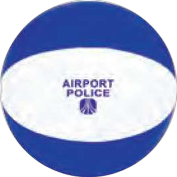 "Blue-white - 6"" Beach Ball Photo"