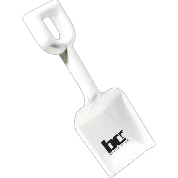 "White Plastic 8"" Shovel Photo"