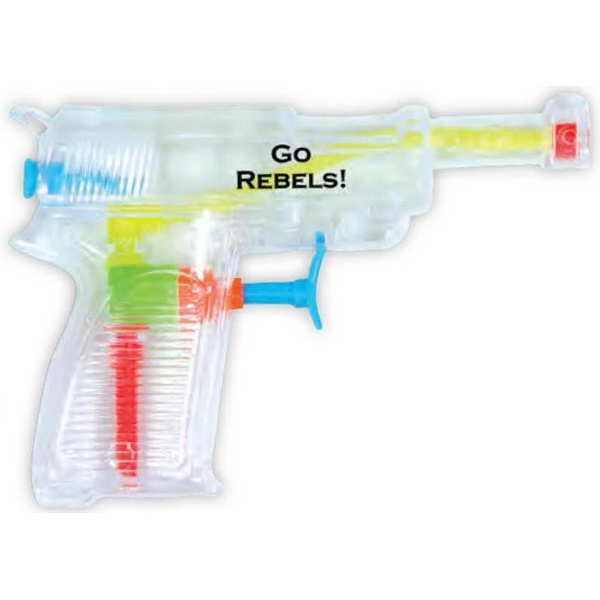 "Clear 5"" Water Gun Photo"