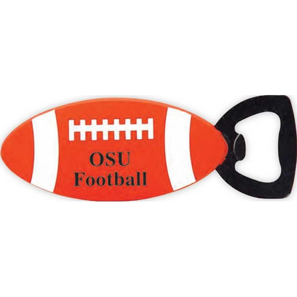 Football Shaped Bottle Opener Photo