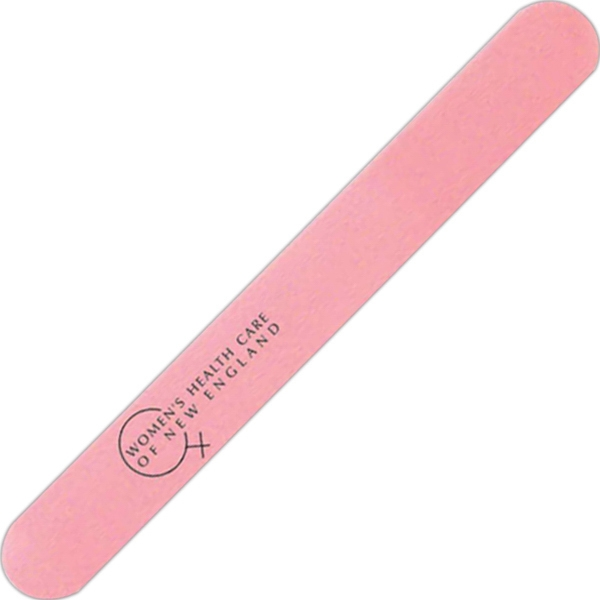 Pink - Plastic Nail File Photo