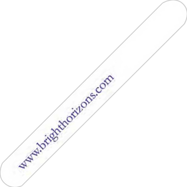 White - Plastic Nail File Photo