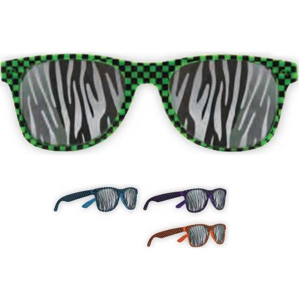 Zebra Lens Glasses