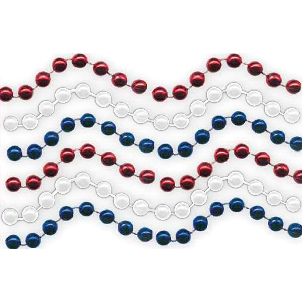 Red, White & Blue Beads