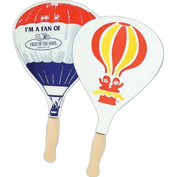 Balloon - Stock Shape Hand Held Fan With Handle Photo