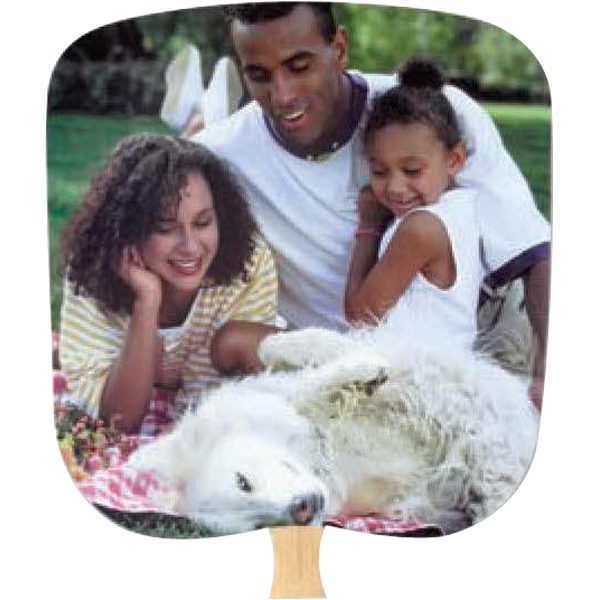 Family Unity - Inspirationals - Fan With Full Color Stock Picture On Coated Front Photo