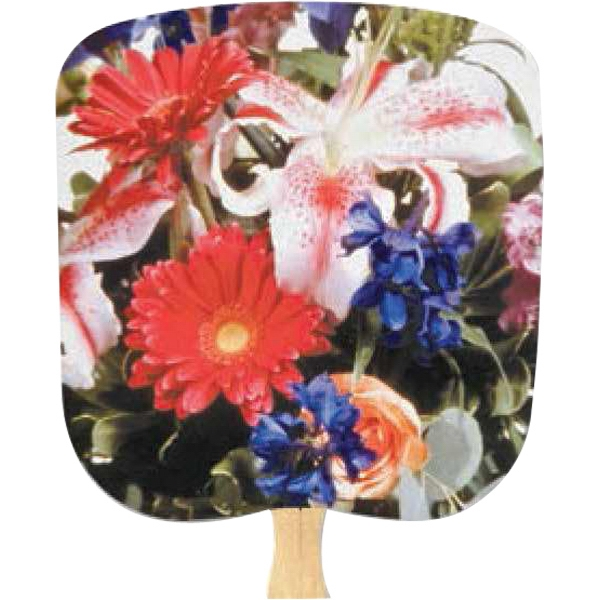 Bouquet - Scenic - Fan With Full Color Stock Picture On Coated Front Photo