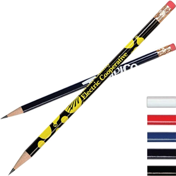American Made Round Pencil With Eraser Photo