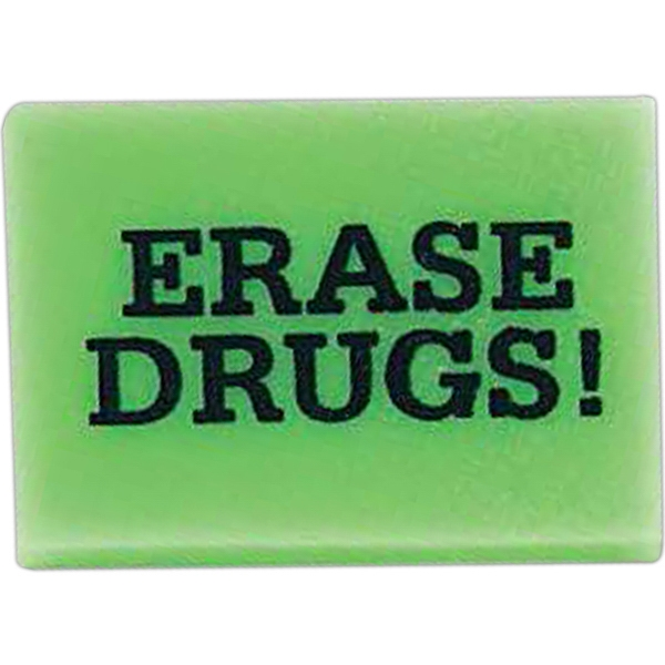 Rectangle Shaped Eraser Photo