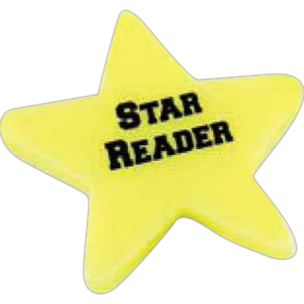 Star - Stock Shaped Eraser Photo