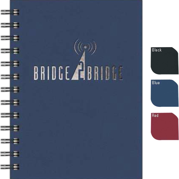 "Valuebook (tm) - New Valueline 5"" X 7"" Paperboard Journal With Matching Back Cover Photo"