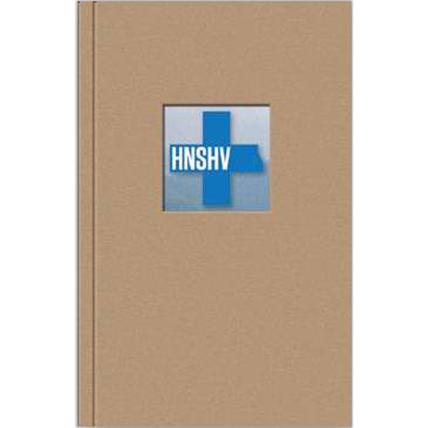 "Perfectbook (tm) - 4"" X 6"" Large Full Color Jotter Pad With Die-cut Window, 100 Sheets Of Paper Photo"