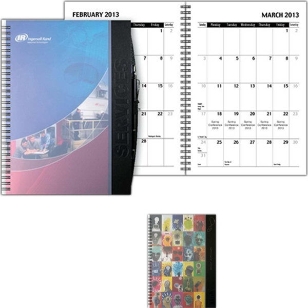 "Eventplanner (tm) - 7"" X 10"" Large Event Planner Journal With Dual Cover Design, 4-quarter Calendar Photo"