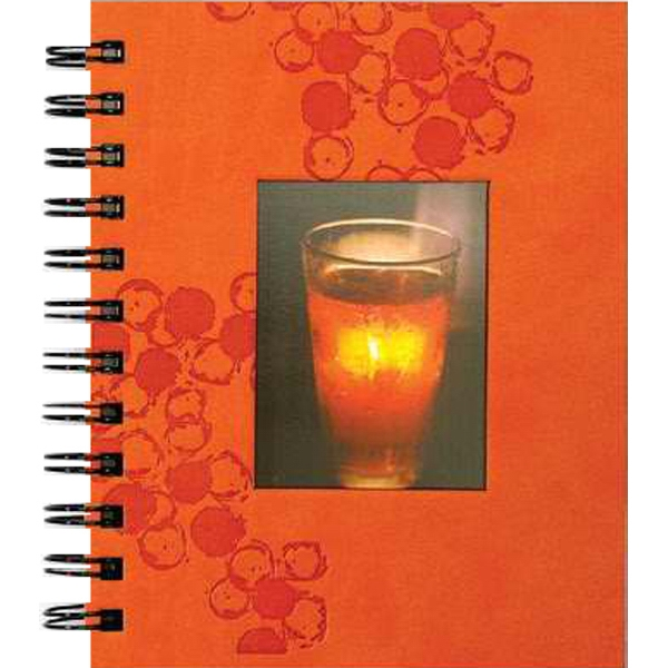 "Photonotes (tm) - 5.25"" X 6.5"" Luxury Vertical Photonotes Journal With 5 Photo Sleeves And 70 Sheets Photo"