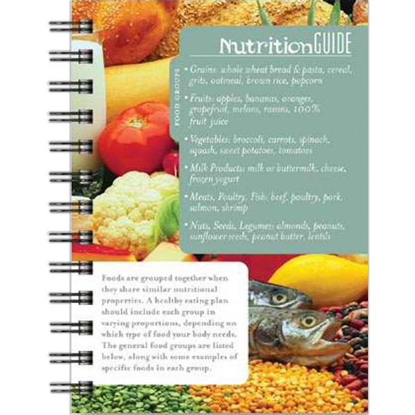 "Healthjournal (tm) - 5"" X 7"" Nutrition Tracker With 100 Sheets Paper Photo"