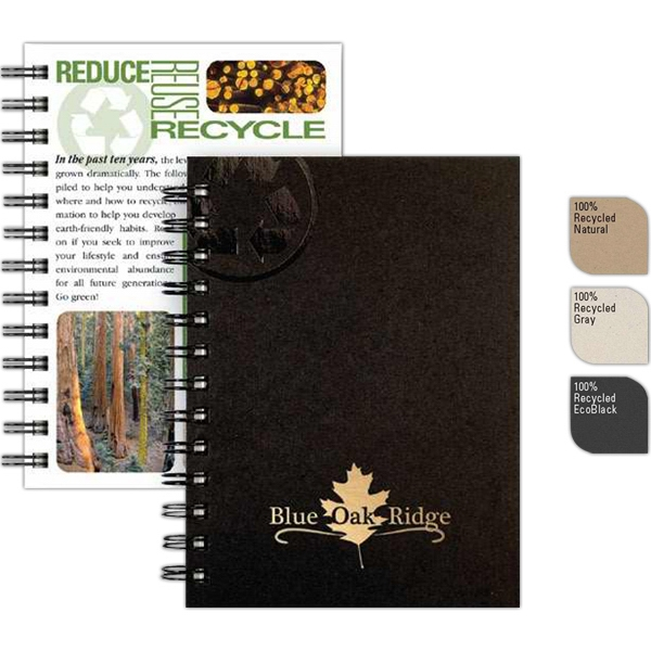 "Recycletips (tm) - 5"" X 7"" Small Recycling Guide Made Recycled Components, 100 Sheets Eco-filler Photo"
