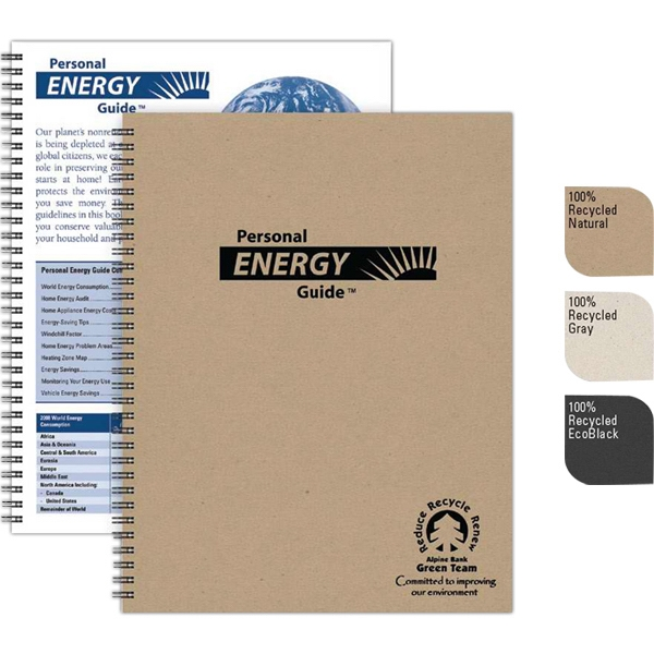 "Energytips (tm) - 8.5"" X 11"" Large Energy Saver Guide Made With Recycled Components Photo"
