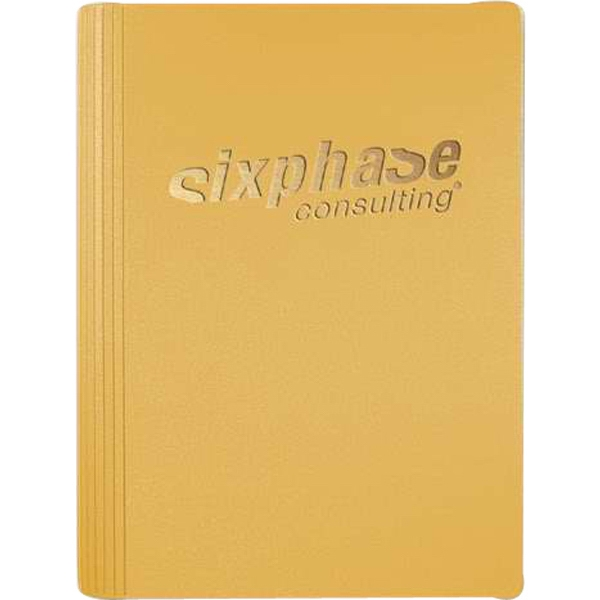 "Leatherwrap (tm) - 5"" X 7"" Refillable Small Bonded Leather Wrapped Journal, 100 Sheets Paper Photo"
