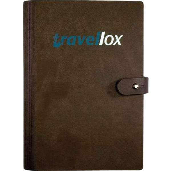 "Leatherwrap (tm) - 5.5"" X 8.5"" Refillable Medium Bonded Leather Wrapped Journal, 100 Sheets Paper Photo"