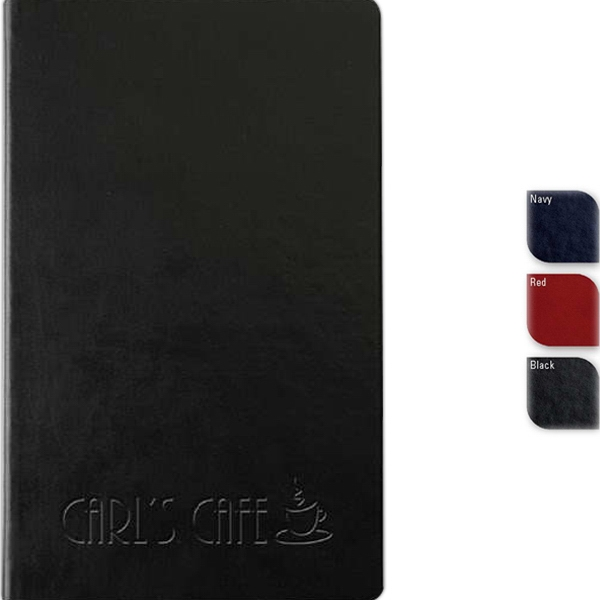 "Bohemian (tm) - Faux Leather, Thread-sewn Cover Journal, 80 Sheets Paper. 5.5"" X 8.5"" Photo"