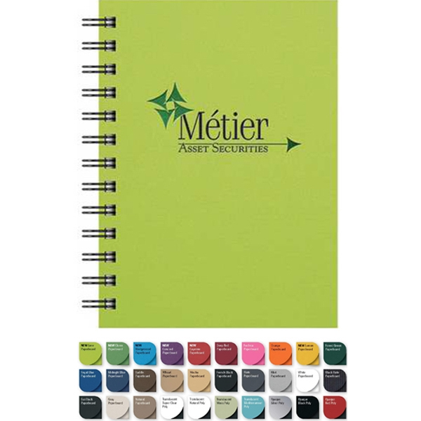 "Medium Notepad With 100 Sheets Lined Paper. 5"" X 7"" Photo"