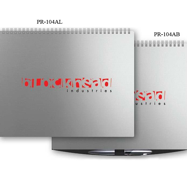 "The President (tm) - 11"" X 8.5"" Alloy Front/chip Back President (tm) Horizontal Monthly Planner Photo"