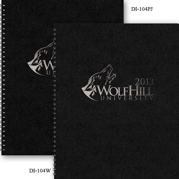 "The Director (tm) - 8.5"" X 11"" 2-part Leatherette Director (tm) Vertical Monthly Planner Photo"