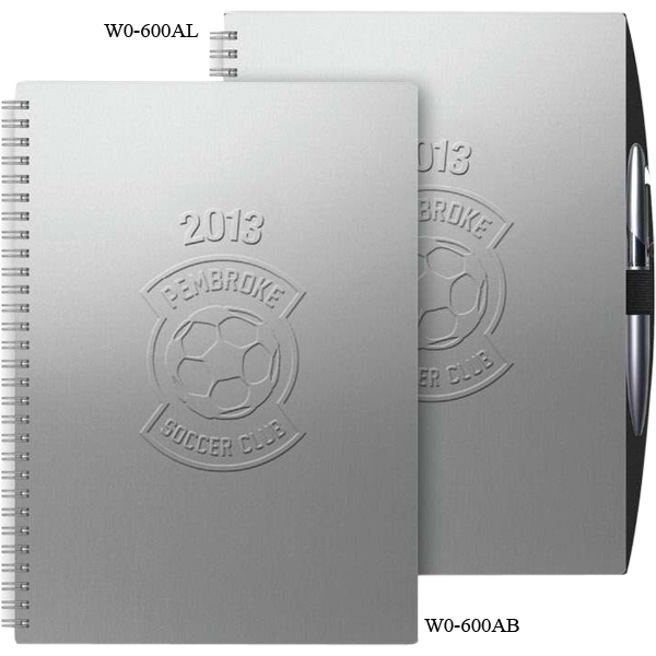 "Weeklyorganizer (tm) - 7"" X 10"" Alloy Weekly Appointment/scheduling Planner Includes Month-at-a-glance Photo"