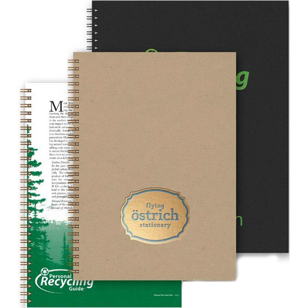 "7"" X 10"" Weekly Organizer With A Guide To Recyclong. 100% Recycled Paperboard Covers Photo"
