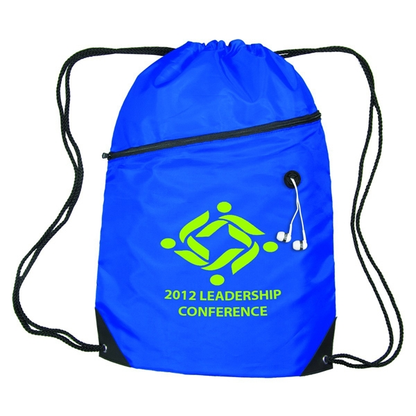 Zippered Sling Bag W/Grommet