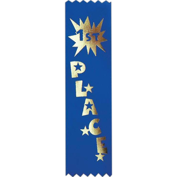 "Recognition Line - Citizenship - Stock Economy Grade Ribbon, 1 5/8"" X 6"" Photo"