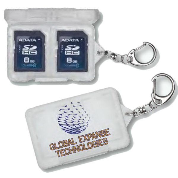 Sd/ X D Memory Card Holder With Lock Tight Closure Photo
