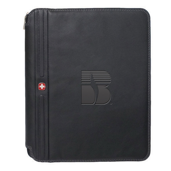Dynamic - Business Organizer With Dual-powered Calculator And Lined Notepad Photo