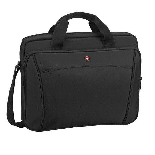 "Integer - Compact Slimcase With A Padded Compartment For Either A Tablet Or 16"" Laptop Photo"