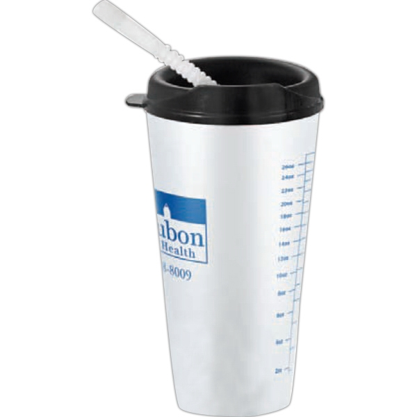 "Flare - 32 Oz. Tumbler With Lid, 7.25"" Tall Photo"