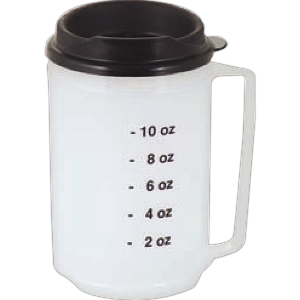 Medical - Twelve Ounce Double Wall Insulated Mug With Spill Resistant Lid Photo