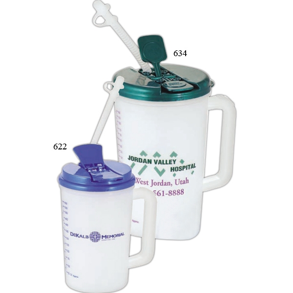Medical - 34 Oz. Insulated Medical Mug With Drink Through Lid Photo