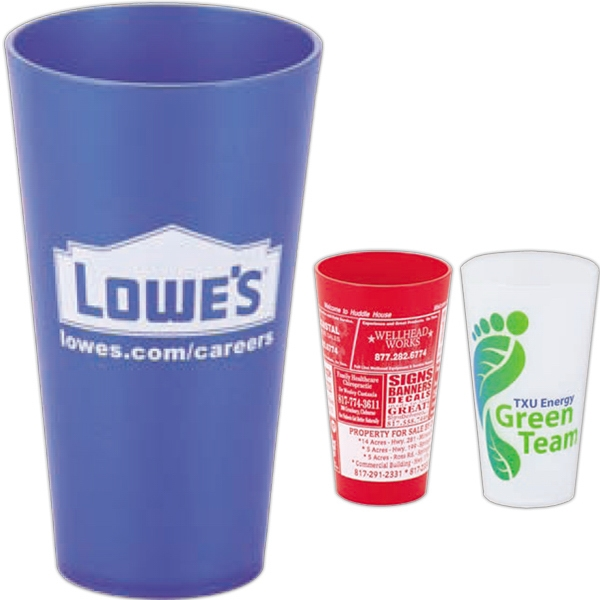 "Flare - 32 Oz. Tumbler Without Lid, 7.25"" Tall Photo"