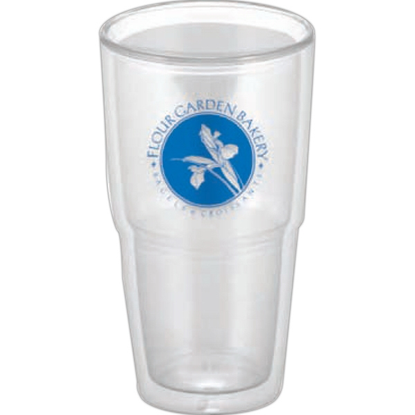 Clear Tumbler With Direct Print. Orders Are Accepted For Full Case Quantities Only Photo
